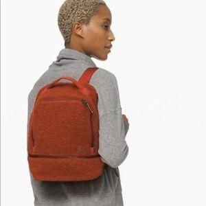 Lululemon City Adventurer mini Sherpa backpack